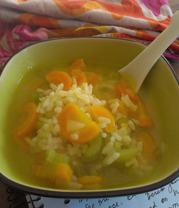 Soup. Extra carrot-y.