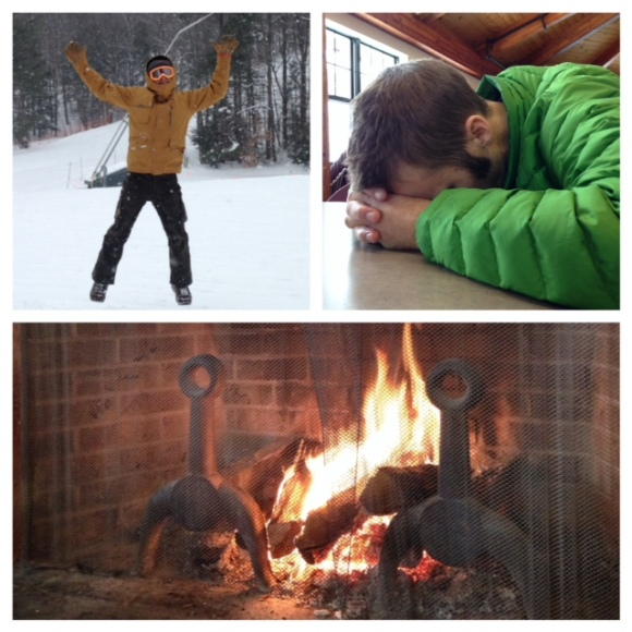 Jumping for joy! Taking a nap. Relaxing by the fire.