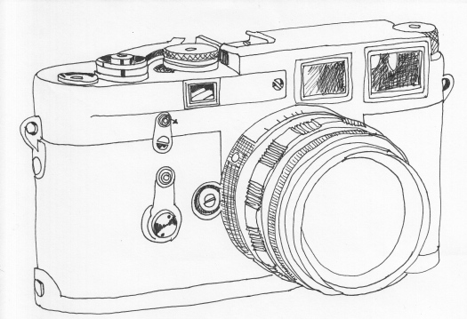 This is the Leica that my Dad gave me as a wedding present.