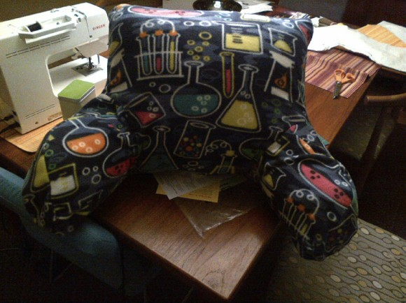 Completed Pillow!
