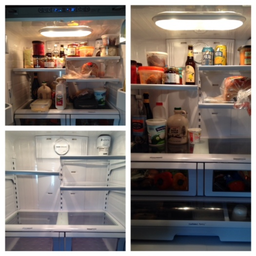 I cleaned the fridge on Friday. Fridge cleaning is one of the most satisfying house tasks I do.