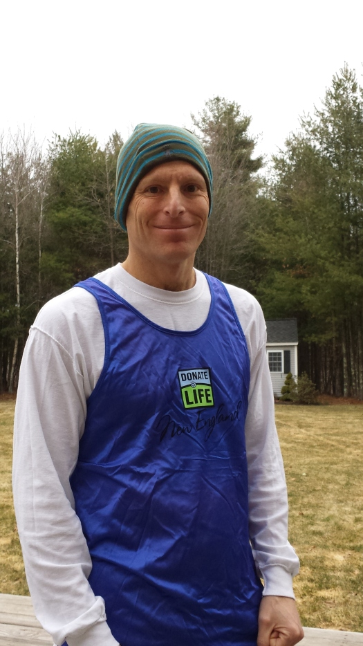 Derek's boss Greg Hallerman heading out for one of his final training runs for the Boston Marathon! Go Greg, Go!