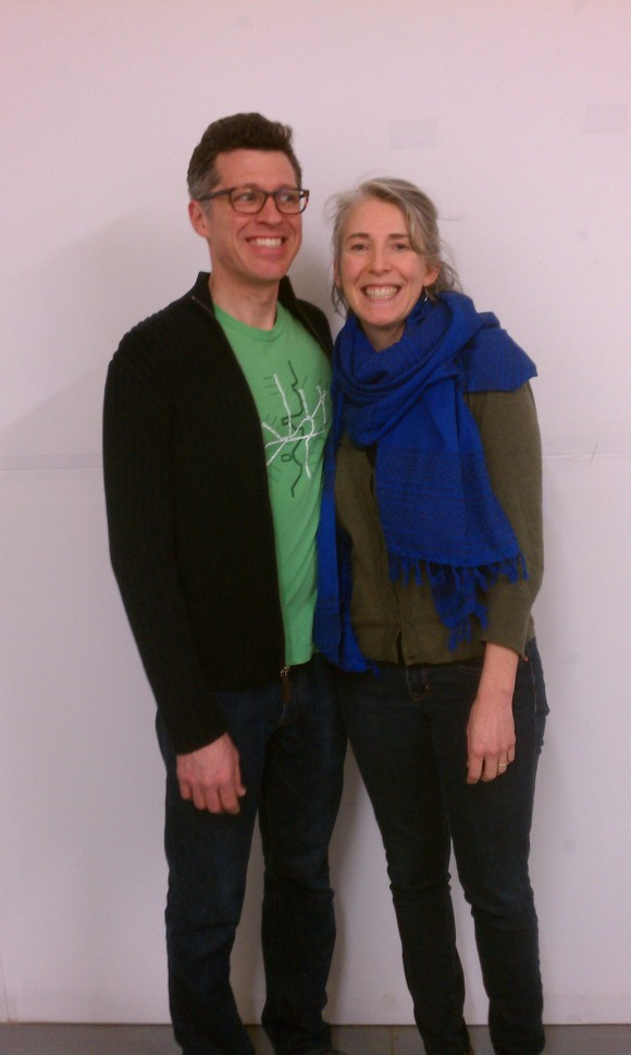 The Beehive! Jim & Sandi are rocking the blue & green!