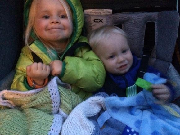 Tiny Rivinius kids!