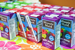 Did someone say juice boxes? Well okay, then.