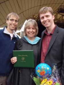 Mom Graduation