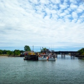 Lobstah traps in Portsmouth.