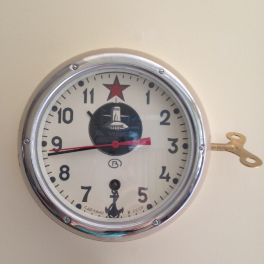 A clock from a Russian submarine!