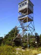 Firetower at Belknap Mountain