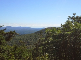 View from Quarry Mtn, Looking south - Probably Mack Mountain