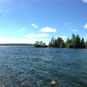 Panorama view from the dock.