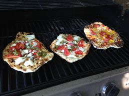 Pizza on the grill is our new summer go to menu item.