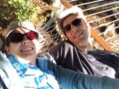 Goofing around on the hammock