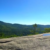 Panoramic view from the 1st lookout. Almost to Welch.