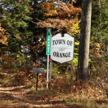 Orange town!