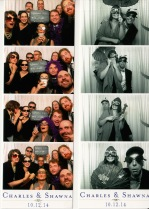 We had way too much fun with the photo booth.