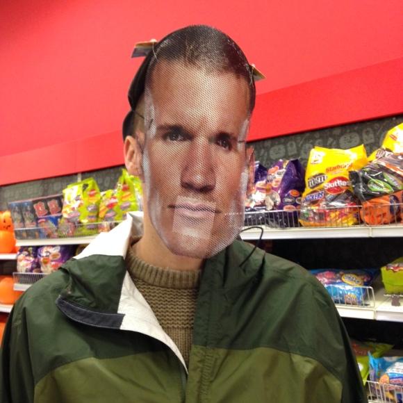 Derek got a half-priced makeover at Target.