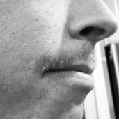 Day 9 of Derek's annual moustache for Movember.
