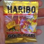 We splurged and got this teeny tiny package of teeny tiny gummi bears.