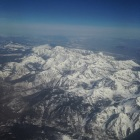 View from the plane.