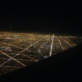 The Chicago grid.
