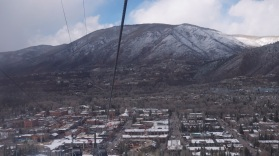 Aspen from the gondola.