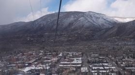 Aspen from the gondola.