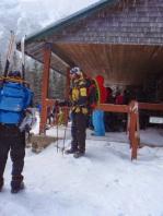 Ski poles and flying saucers!