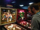 Playing my favorite pinball from my youth.
