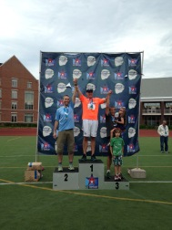 Silver in the 1500m!